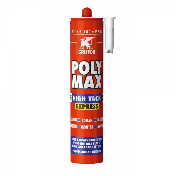 Griffon Poly Max - High Tack Express - wit - 435 gram
