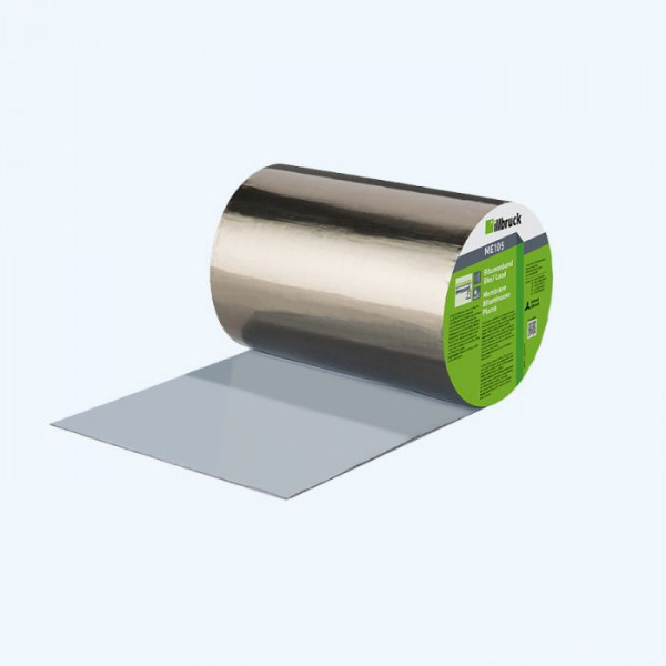 Illbruck ME105 - bitumenband - lood - 15 cm x 10 m