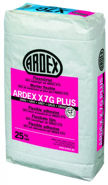 Ardex X7 G Plus - flexlijm - 25 kg