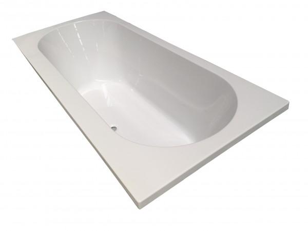 Portus RD inbouw ligbad wit 180 x 80 x 49 cm product foto