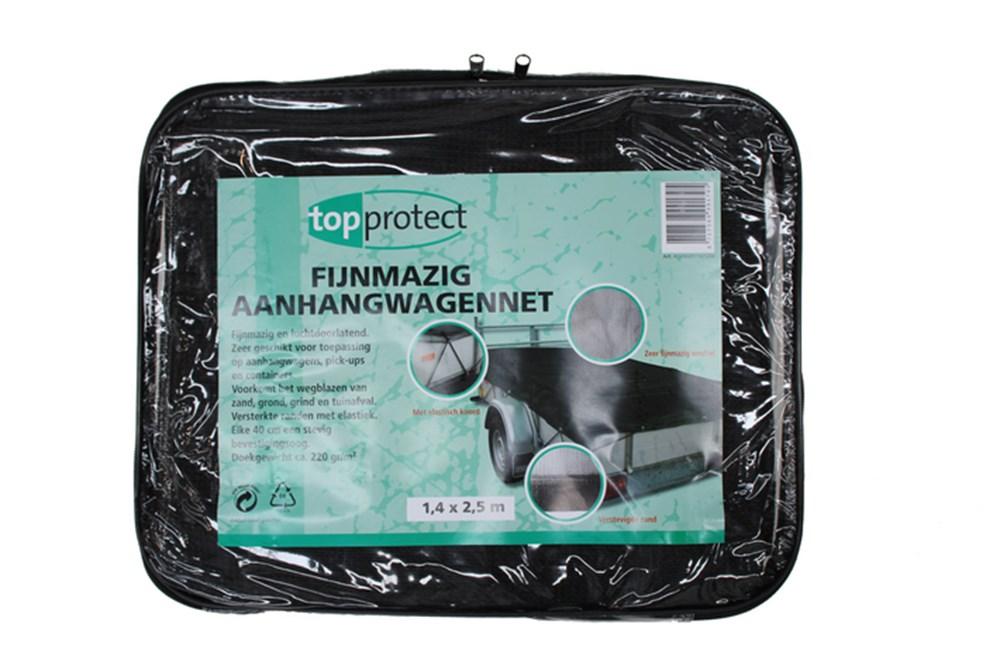 LoadLok Topprotect aanhangernet 200x300 cm fijnmazig met koord
