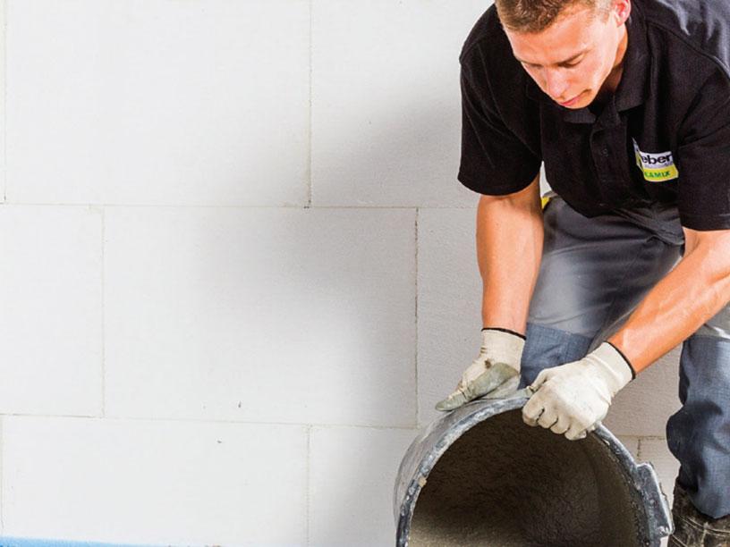 Mortels voor een cementdekvloer