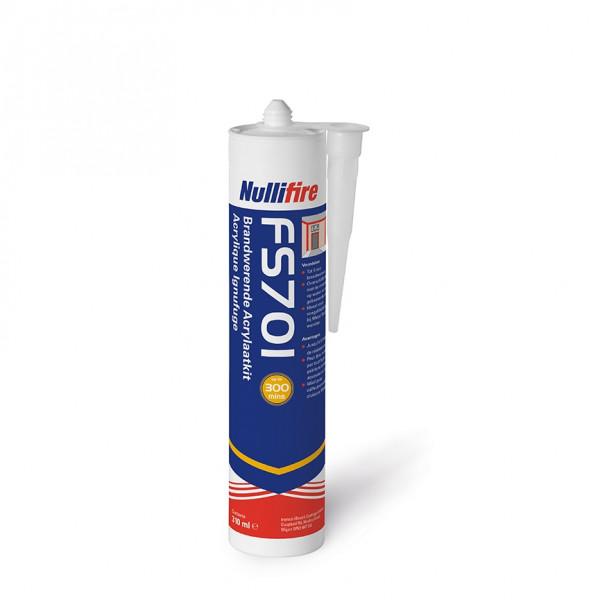 Nullifire FS701 - brandwerende acrylaatkit - wit - 310 ml