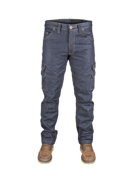Dunderdon P60 cordura denim werkbroek product foto