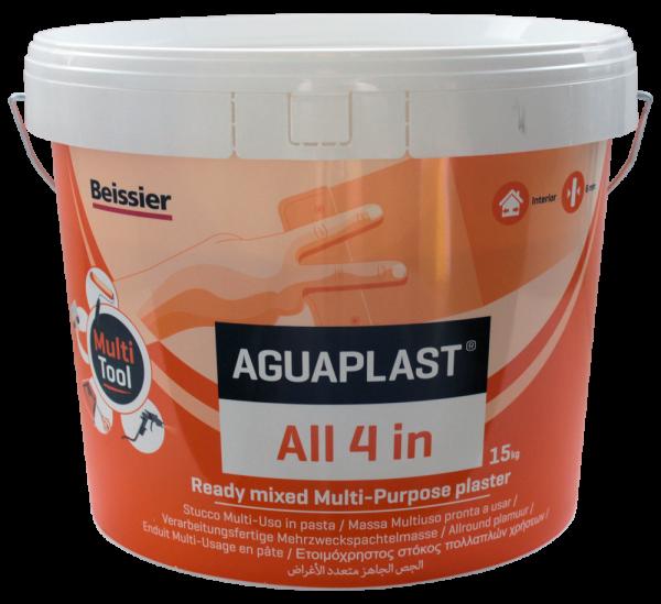 Aquaplast - ALL 4 IN - universele plamuur - 15 kg