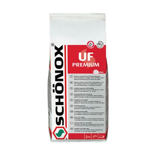 Schonox UF Premium grijs 5 kg voegmiddel product foto